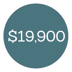 $19,900
